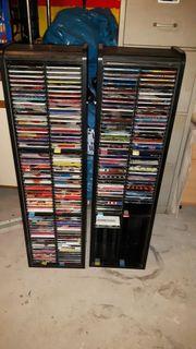 Verkaufe CD Sammlung mit Ständern