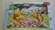 Winnie Pooh Puzzle 15Teile