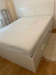 Ikea Bett BRIMNES 160x200 inkl