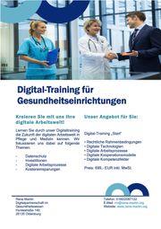 Digital-Training für Gesundheitseinrichtungen