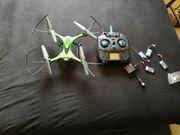 Drohne mit 5 akkus