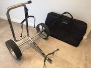 Jucad Carbon Zweirad mit Tasche
