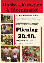 Plieninger Hobby- Künstler- und Ideenmarkt