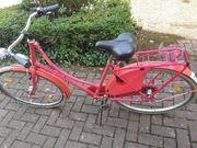 Holland Fahrrad Pink Zündapp 28