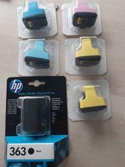 HP Druckerpatrone 363