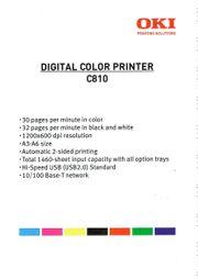 OKI Digital Color LASERDRUCKER - inkl