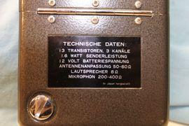 CB, Amateurfunk - Funkgerät Handsprechfunk TOKAI TC 1603