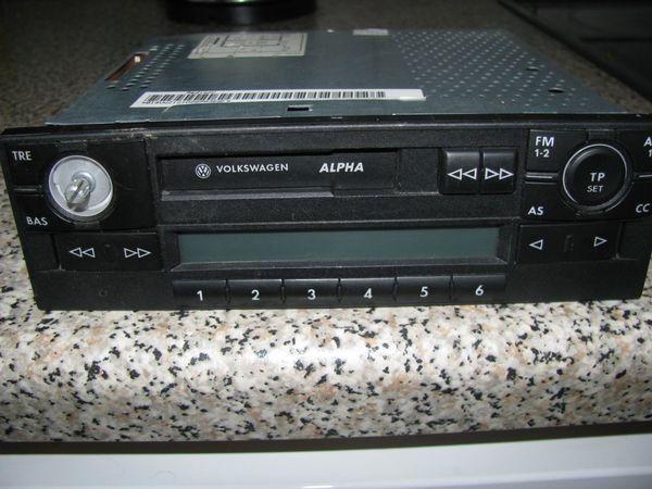 Blaupunkt Alpha-5 für VW Autoradio