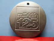 Märklin 125 Jahre - Medaille Metall
