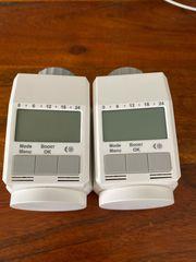 2x programmierbare Heizkörperthermostate