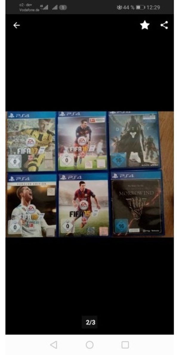 Playstation 4 spiele zb FIFA19