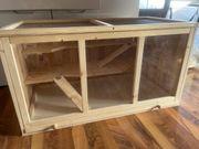 verkaufe Hamsterkäfig Holz