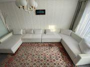 Couch Sofa weiß