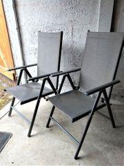 Verk 2 Gartenstühle klappbar im