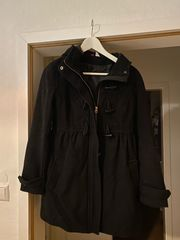 Damen Mantel schwarz Gr 36