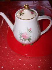 Porzellan-Teekanne Hutschenreuther Selb Exzellenz Rosita