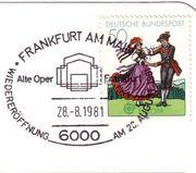 AK Wiedereröffnung Alte Oper Frankfurt