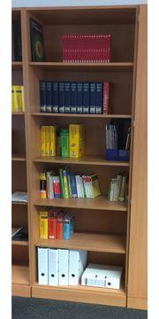 Büroregale von Palmberg Buche-Nachbildung