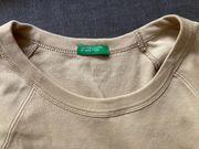 Benetton Shirt langarm Gr S