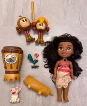 Vaiana Puppe mit Zubehör