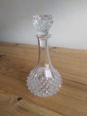 Glaskaraffe Bleikristall