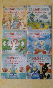 Ritter Rost-Hörspiel-CDs zusammen abzugeben - keine Serie