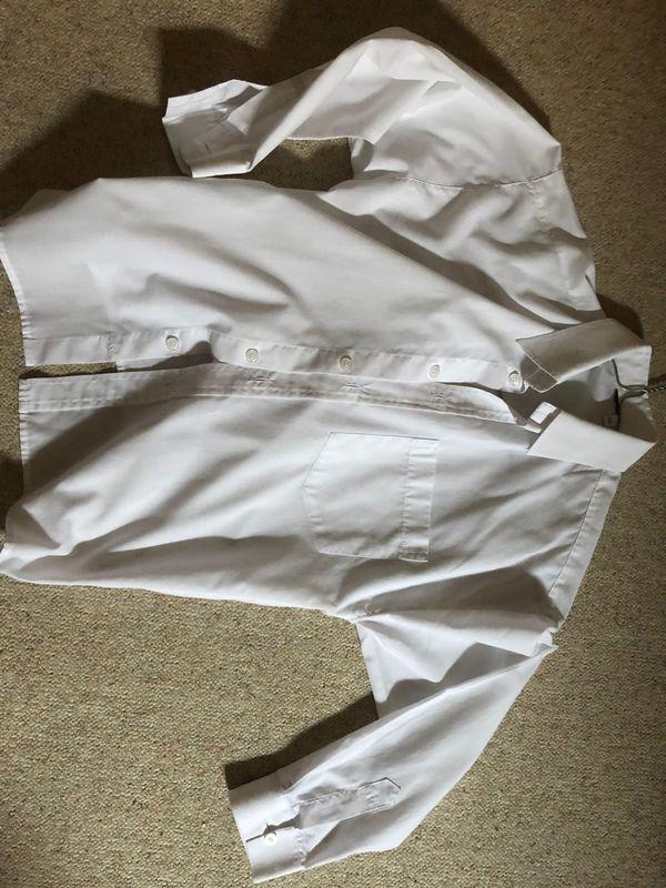 weißes Hemd Gr 140