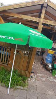 Sonnenschirm Hatz Brauerei