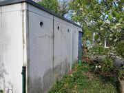 Entsorgung von Fertiggaragen aus Beton