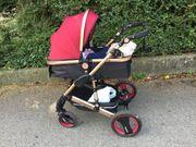 Baby Erstausstattung inkl neuem Kinderwagen