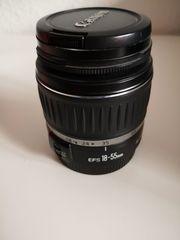 Objektiv Canon EF-S 18-55mm f