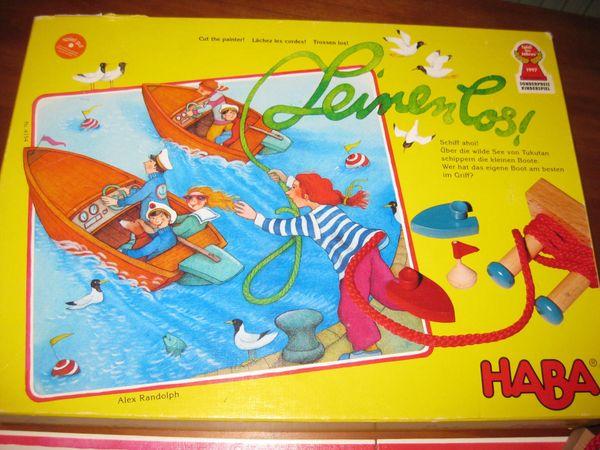 Geschicklichkeitsspiel Leinen los von HABA