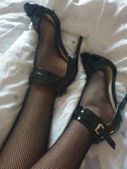 verkaufe getragene Schuhe