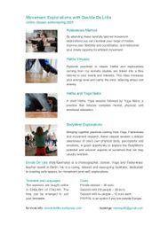 Feldenkrais and Yoga