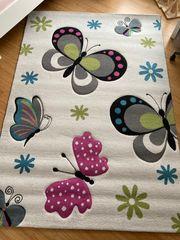 Designer Teppich Kinder Schmetterling 150