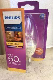 Philips LED WarmGlow Lampe dimmbar