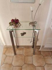 kleiner Beistelltisch Wandtisch