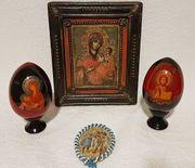 Orthodoxe Ikone Portaitissa 2 Eier