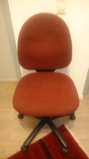 Bürodrehstuhl Marke Topstar rot