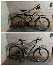 2 Fahrräder zoll 26