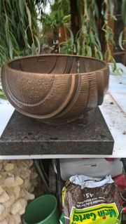 Strassenacker Friedhofschale-Bronze-