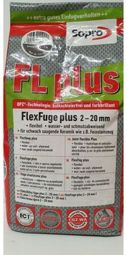 Fugenmörtel Sopro Flexfuge FL plus