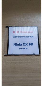 Kawasaki ZX 9R Werkstatthandbuch-CD deutsch