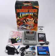 Super Nintendo mit Donkey Kong