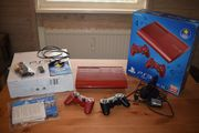 Playstation 3 - 500GB Garnet red
