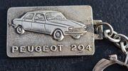 Alter PEUGEOT 204 Schlüsselanhänger