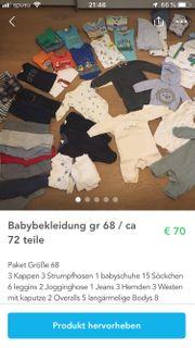 Babybekleidung gr 68