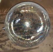 NEU aufblasbarer Wasserball Glitzer 60