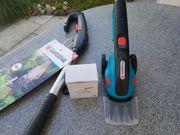 Gardena elektrische Rasenschere mit Verlängerung
