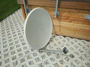 Satellitenschüssel 85cm inkl Wandhalterung